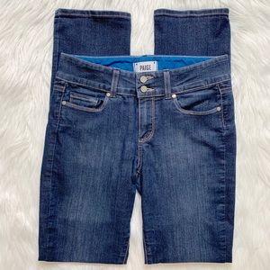 PAIGE Straight Leg Hidden Hills Jeans
